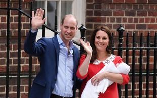 Kate Middleton se je s to gesto pred porodnišnico poklonila pokojni princesi Diani