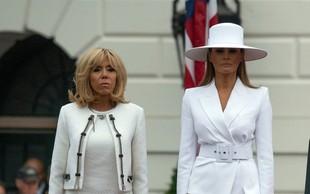Zakaj je Melania Trump nosila velik bel klobuk?