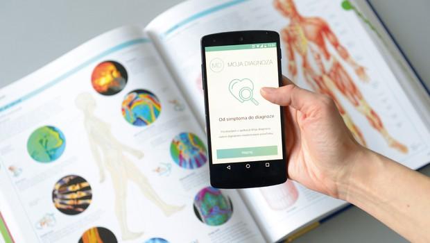 Aplikacija Moja diagnoza: Zasebnost in strokovno preverjene informacije (foto: AML)