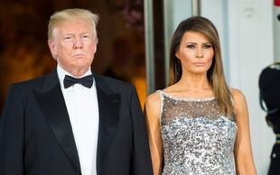 Melania Trump je za rojstni dan od Donalda dobila 'čudovito čestitko in čudovite rože'!
