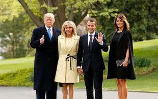 Brigitte Macron: Melania Trump je inteligentna, zabavna, z močno osebnostjo