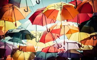 Za prvomajske praznike nas bodo občasno prale tudi plohe in nevihte!