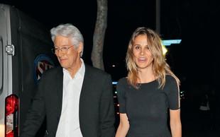 Richard Gere ljubi 34 let mlajšo Španko