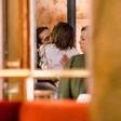 Heidi Klum in njen 16 let mlajši fant sta se na večerji skoraj pojedla