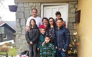 Rene Mlekuž za družino zbral 8.000 evrov!