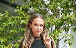 Iryna Osypenko osupnila na modnem dogodku v Ljubljani