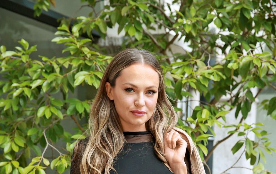 Iryna Osypenko po ločitvi ostaja v dobri družbi (foto: Helena Kermelj)