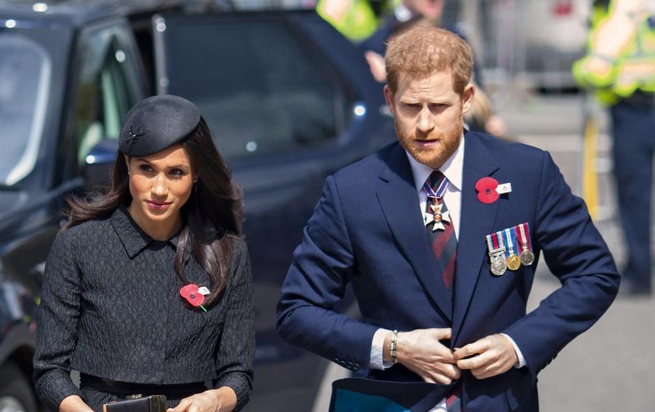 Meghan je princa Harryja poslala na predporočno dieto (foto: Profimedia)