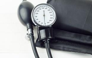 66 odstotkov odraslih Slovencev ima težave s povišanim krvnim tlakom