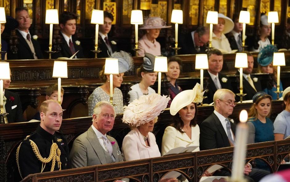 Zakaj je bilo ob princu Williamu na kraljevi poroki prazno mesto? (foto: Profimedia)
