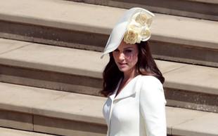 Kate Middleton na kraljevi poroki nosila obleko, ki smo jo videli že dvakrat