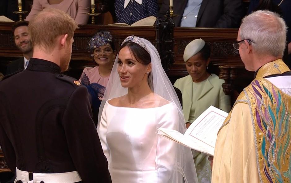 Prve uradne fotografije s poroke princa Harryja in Meghan Markle (foto: Profimedia)