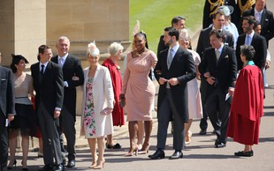 Ne boste verjeli, kakšne čevlje je na kraljevi poroki nosila Serena Williams