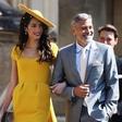 George Clooney na kraljevi poroki plesal s Kate Middleton in Meghan Markle, ena dama pa ga je zavrnila