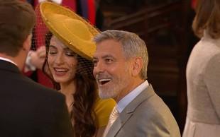 George Clooney na kraljevi poroki gostom točil svojo tekilo