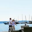 Miro Cerar ujet med romantičnim sprehodom ob morju