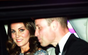 Princa Williama in Kate Middleton sta pred leti rada popila kozarček preveč