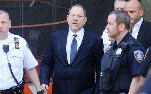 Harvey Weinstein se je izrekel o obtožnici: Ne čuti se krivega