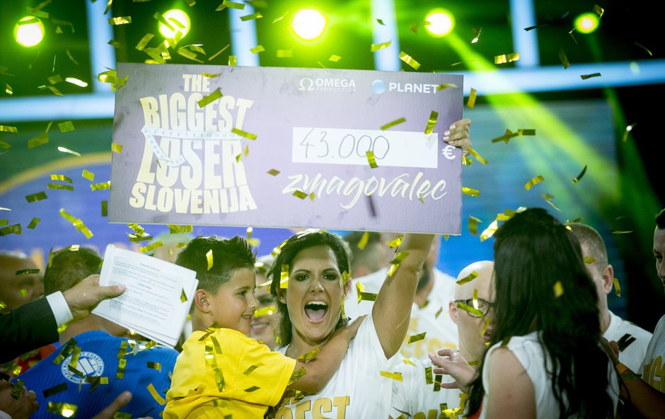 Zmagovalka druge sezone šova The Biggest Loser Slovenija je Klara! (foto: Planet TV)
