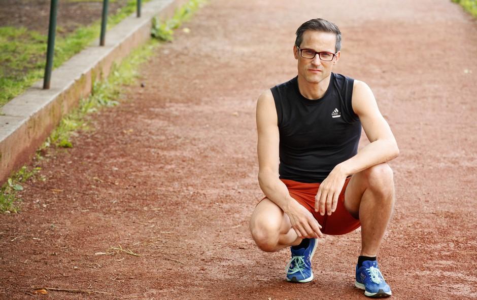 Doc. dr. Damjan Osredkar: Otrokom  ni treba teči maratona (foto: aleksandra saša prelesnik)