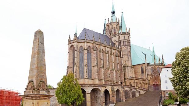 Mesto Erfurt – zmenek z osrednjo Nemčijo (foto: shutterstock)