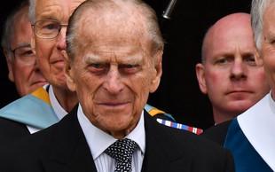 Proti princu Philipu ne bodo vložili tožbe zaradi prometne nesreče