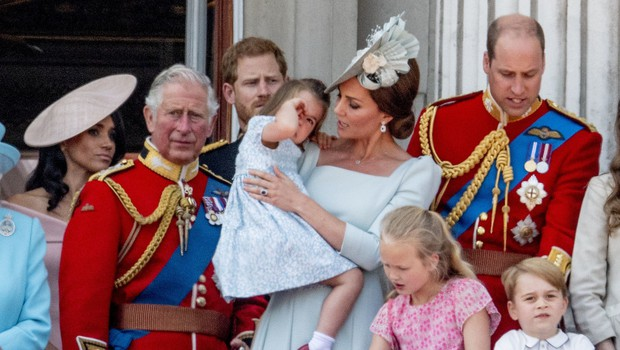 Kate Middleton z eno potezo rešila princeso Charlotte pred grdim padcem (foto: Profimedia)