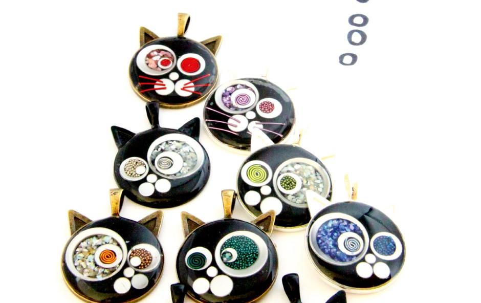 Ustvarjalka Nina Gumzej: Mačke so moje muze! (foto: Osebni arhiv)