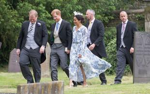 Meghan Markle na poroki skoraj zasenčila nevesto