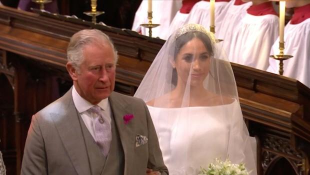 Poglejte si, kako princ Charles kliče Meghan Markle (foto: Profimedia)