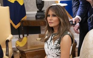 Španska kraljica Letizia blestela, Melania Trump ves čas brezvoljna