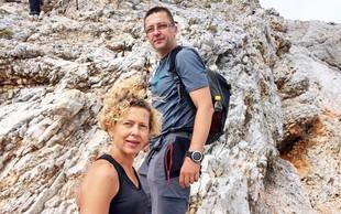 Dr. Samo Rugelj s knjigo o 30-urni poti na vrh Triglava