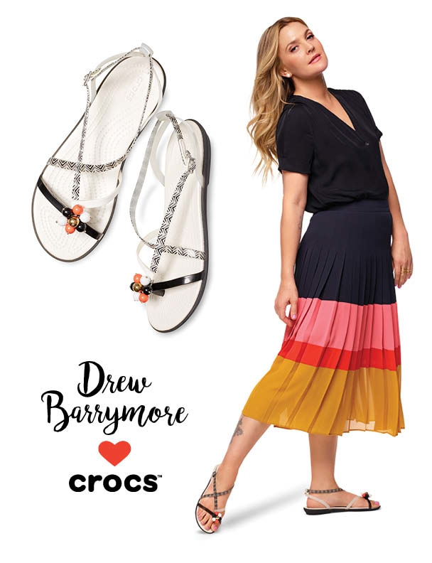 Nova Crocs modna kolekcija s podpisom Drew Barrymore! (foto: Drew Barrymore ♥ Crocs)