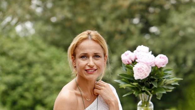 Martina Vrhovnik je pomagala tudi Nataliji Gros (foto: Helena Kermelj)