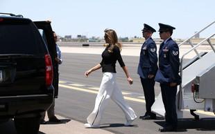 Vsi govorijo o teh čevljih, ki jih je nosila Melania Trump