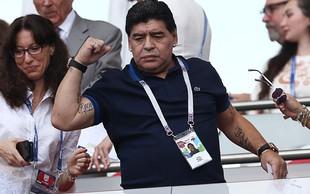 Maradona bi brezplačno treniral Argentince, če bi mu zveza to dovolila!