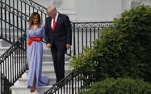 """Modni kritiki: """"Melania Trump je bila oblečena v namizni prt."""""""