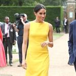Rumena obleka Meghan Markle o kateri vsi govorijo (foto: Profimedia)