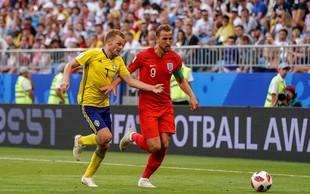 Angleške nogometaše je doma pred ekrani spremljalo 20 milijonov gledalcev
