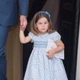 Princesa Charlotte je na krstu malega princa podila fotografe