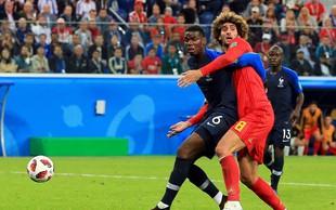 Francoski nogometaši z golom Umtitija v finale