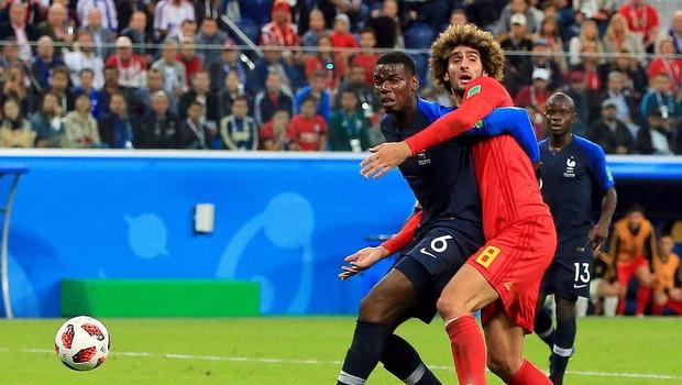 Francoski nogometaši z golom Umtitija v finale (foto: profimedia)