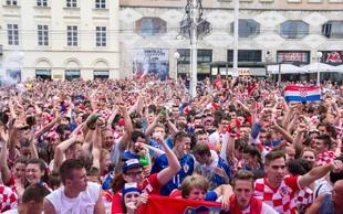 Velika selitev hrvaških navijačev na polfinalno tekmo v Moskvo