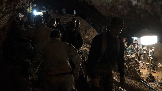 Torkovo reševanje tajskih dečkov bi se zaradi nenadne okvare črpalke skoraj končalo tragično (foto: profimedia)
