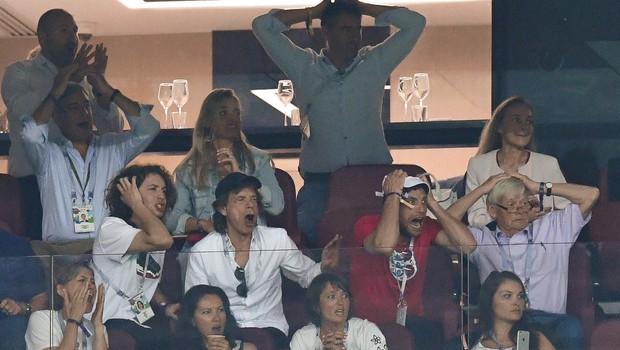 Angleži za poraz na tekmi krivijo Micka Jaggerja (foto: Profimedia)
