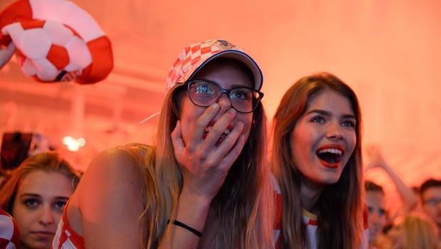 Na Hrvaškem so se med praznovanjem nogometne zmage tresla tla, poroča Geofizika! (foto: profimedia)