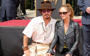 Johnny Depp je zaskrbljen zaradi sinove bolezni