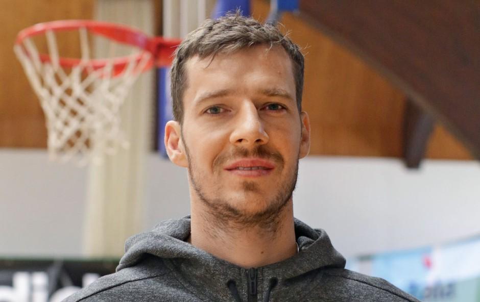 Goran Dragič bo poletje posvetil družini (foto: Goran Antley)