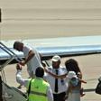 George Clooney po nesreči z motociklom odšepal s Sardinije