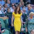 Kate Middleton z rumeno obleko izzivala Meghan Markle